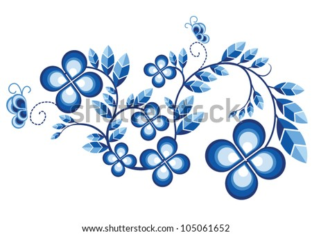 chinese new year card design / pattern / background - stock vector
