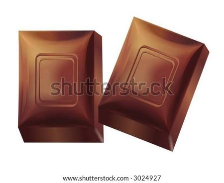 Chocolate - stock vector