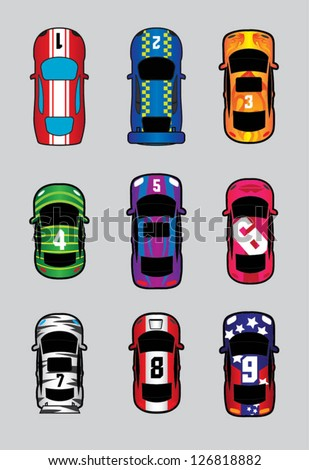 choose your car! - stock vector
