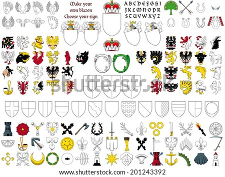 Choose your own sign - stock vector