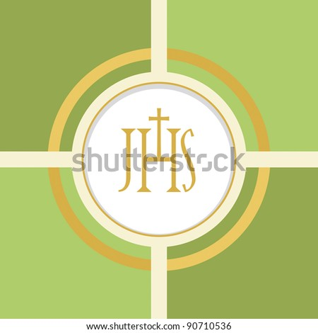 Christian Symbol Eucharist Stock Vector Hd Royalty Free 90710536