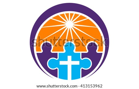 Christianity Community  - stock vector