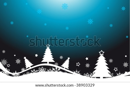 Christmas abstract background.  vector illustration - stock vector