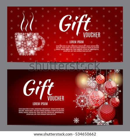 Christmas Voucher Photos RoyaltyFree Images and Vectors – Free Christmas Voucher Template