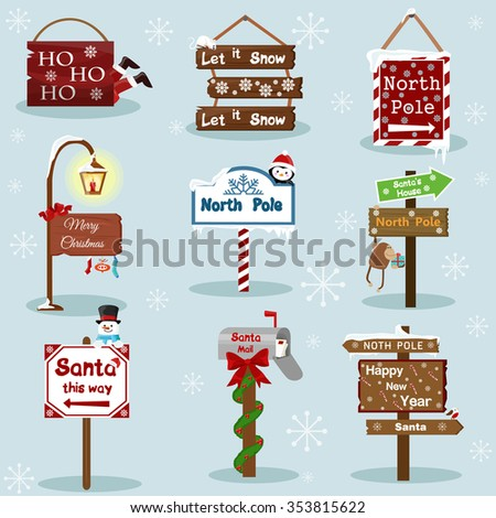 Christmas and New Year holiday Icons and labels image design set for you illustration, design, postcards, labels, stickers and other creative needs.