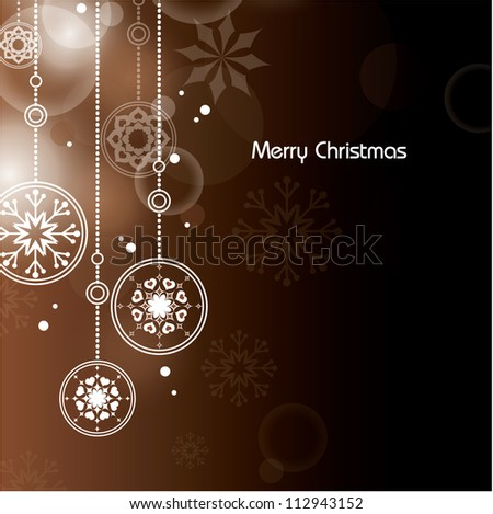 Christmas Background. Abstract Illustration. Eps10 Format. - stock vector
