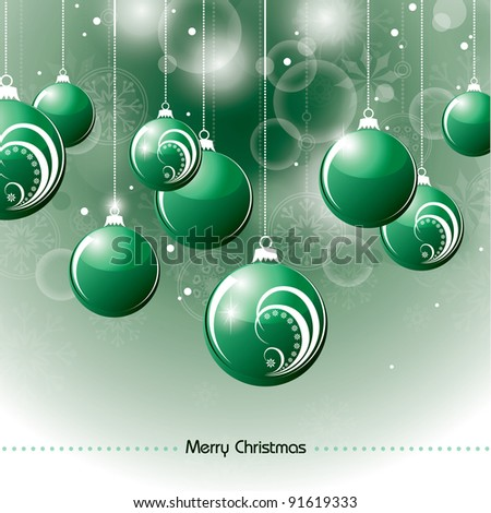 Christmas Background. Abstract Vector Background.