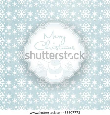 Christmas background design, EPS10 - stock vector