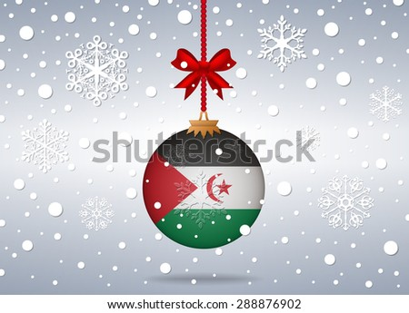 Christmas background Sahrawi