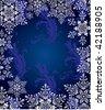 Christmas background vector - stock vector