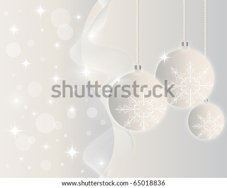 Christmas background. Vector - stock vector