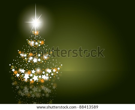 Christmas Background. Vector Design. Eps10.