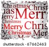 christmas background. Vector illustration - stock photo