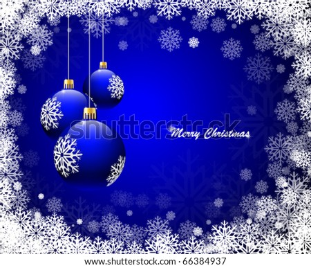 Christmas background. Vector illustration