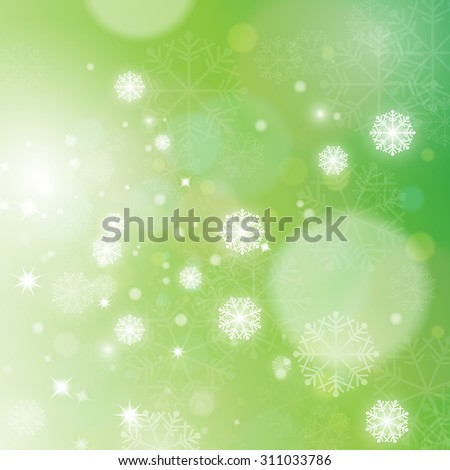 Christmas Background - Vector Illustration, Graphic Design Editable For Your Design - stock vector