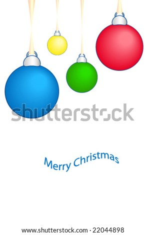Christmas ball text