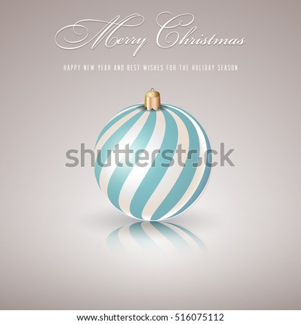 Christmas ball.Vector