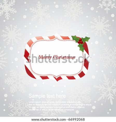 Christmas banner. Vector - stock vector