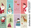 Christmas banners - stock vector