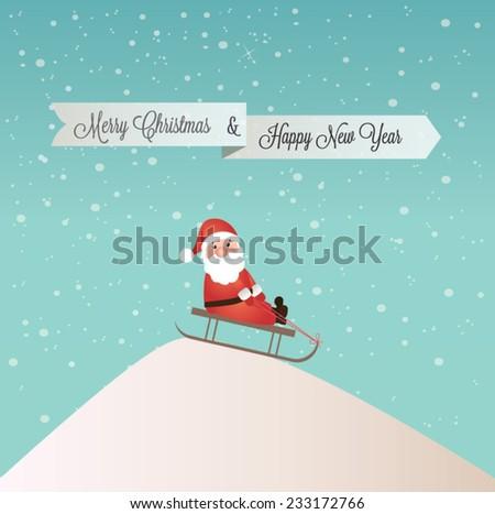Christmas banners - vector illustration. - stock vector