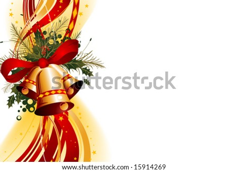 Christmas Bells - stock vector