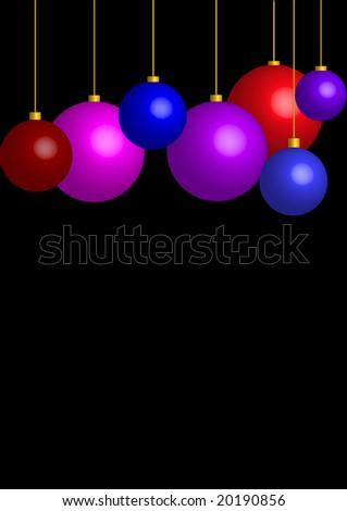 christmas bulb - stock vector