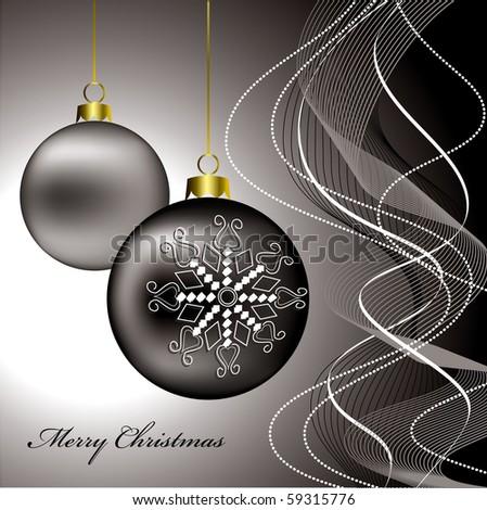 Christmas Card Background. eps10. - stock vector