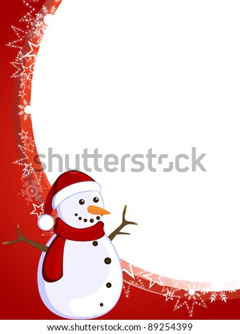 christmas card - vector
