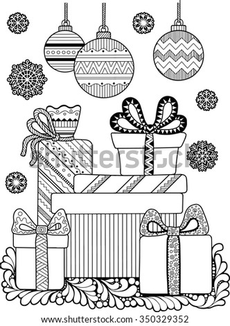 jolly christmas coloring books for adults merry jolly penguin detailed coloring stock 7805