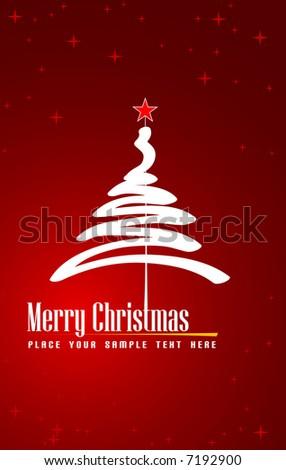 Christmas decoration (vector) - stock vector