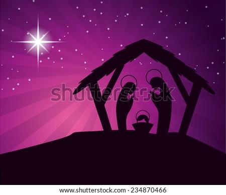 christmas  design , vector illustration - stock vector
