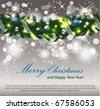 Christmas Garland. Eps10. - stock vector
