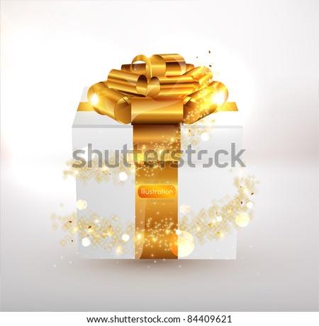 Christmas gifts. - stock vector