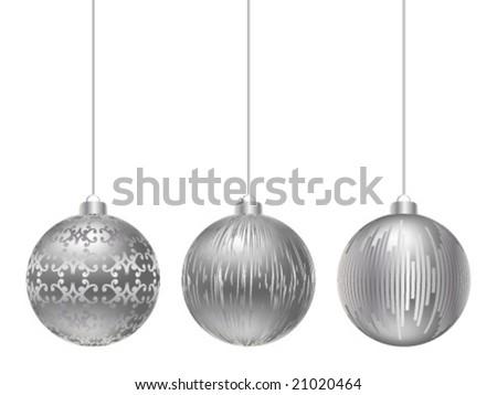 christmas globe vector illustration - stock vector