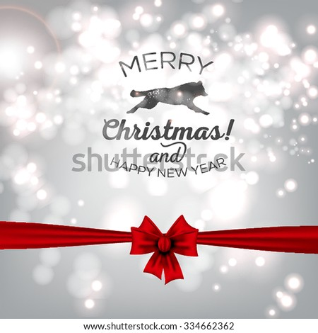 picture of merry christmas and happy new year 2016 beach