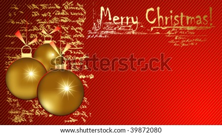 Christmas greeting card ornaments stock vector hd royalty free christmas greeting card with ornaments m4hsunfo