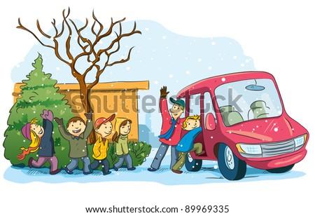 Christmas Holiday - stock vector