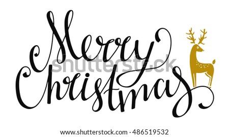 christmas holiday banner merry christmas handwritten stock vector rh shutterstock com Funny Holiday Banner Happy Holidays Banners Clip Art