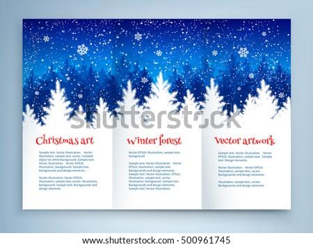 winter template