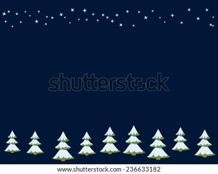 Christmas/New Year card/repeating pattern - stock vector