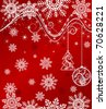 Christmas or new year background for design. Jpeg version also available - stock vector