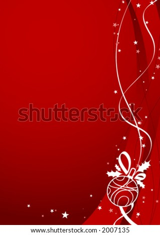 Christmas ornament design - stock vector