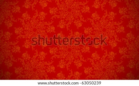 christmas paper red wrapping background - stock vector