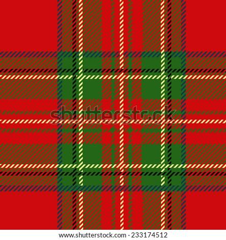 Christmas Pattern Design - stock vector