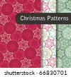 Christmas Pattern Set - stock vector