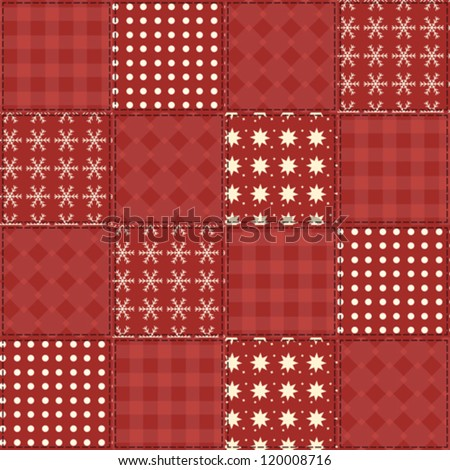Christmas Quilt Stock ...