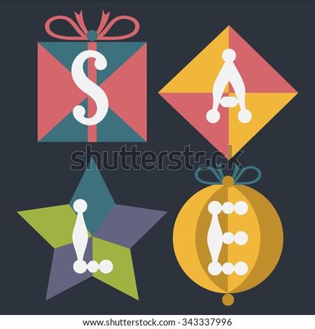 Christmas Sale - stock vector