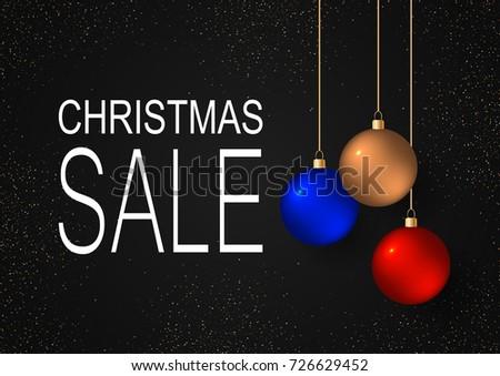 Happy New Year 2018 Gold Balls Stock Vector 715423711 - Shutterstock