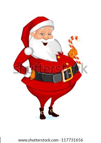 Christmas Santa Claus - stock vector