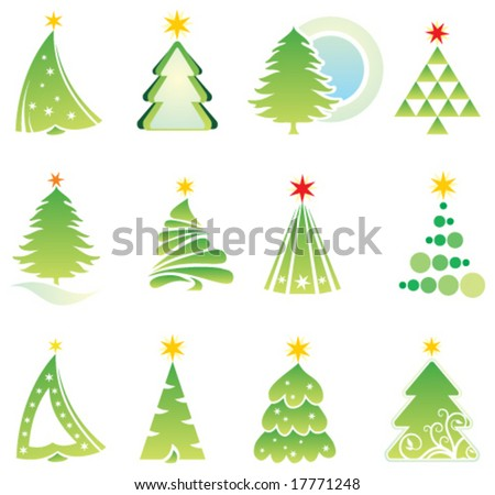 Christmas set. Elements for design - stock vector